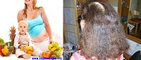 Hamilelikte saç bakımı