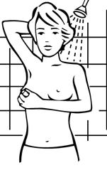 Duşta meme muayenesi