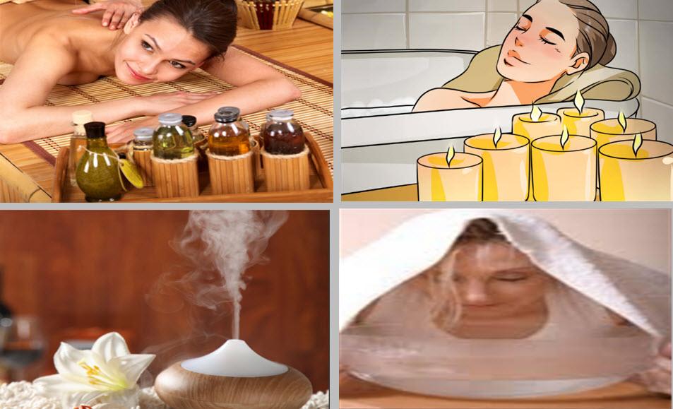 Aromaterapi uygulama yöntemleri