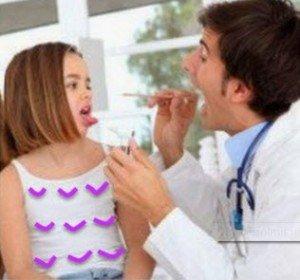 Çocuklarda boğaz ağrısı tedavisi