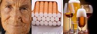 Menopozda alkol ve sigaranın zararları