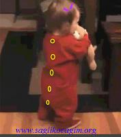 Bebeklerde yürüme dönemleri