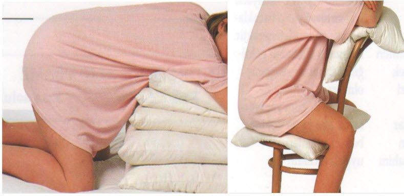 Doğum ağrıları sırasında rahatlatıcı pozisyonlar
