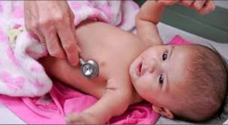 Bebeğin altıncı hafta muayenesi