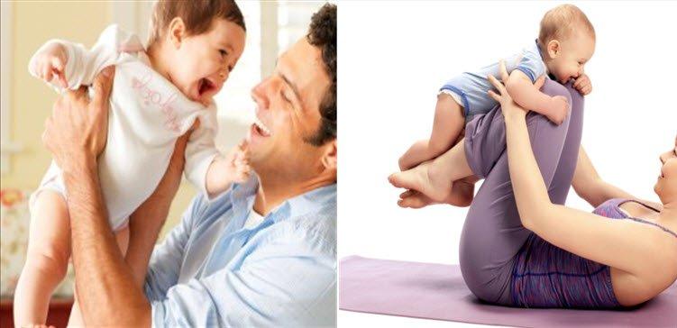 Bebek ile oyun oynama ve bebeğin tutulması yöntemleri