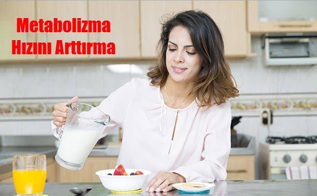 Metabolizma Hızını Arttırma Yöntemleri