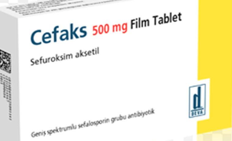 Cefaks 500 mg film tablet hangi hastalıklarda kullanılır