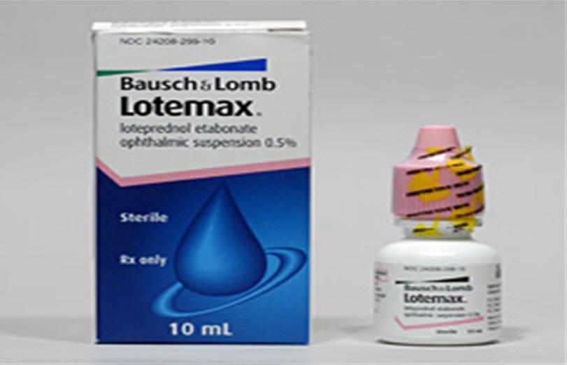 Lotemax göz damlası nedir