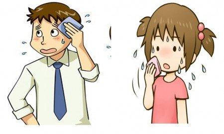Çocuklarda aşırı terleme neden olur
