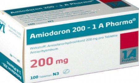 Amiodaron ilaç ne için kullanılır