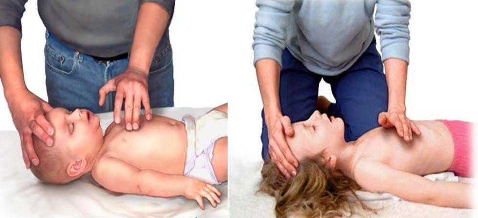 Çocuklarda kalp masajı nasıl yapılır