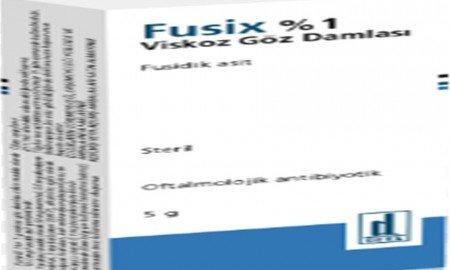 Fusix göz damlası nedir