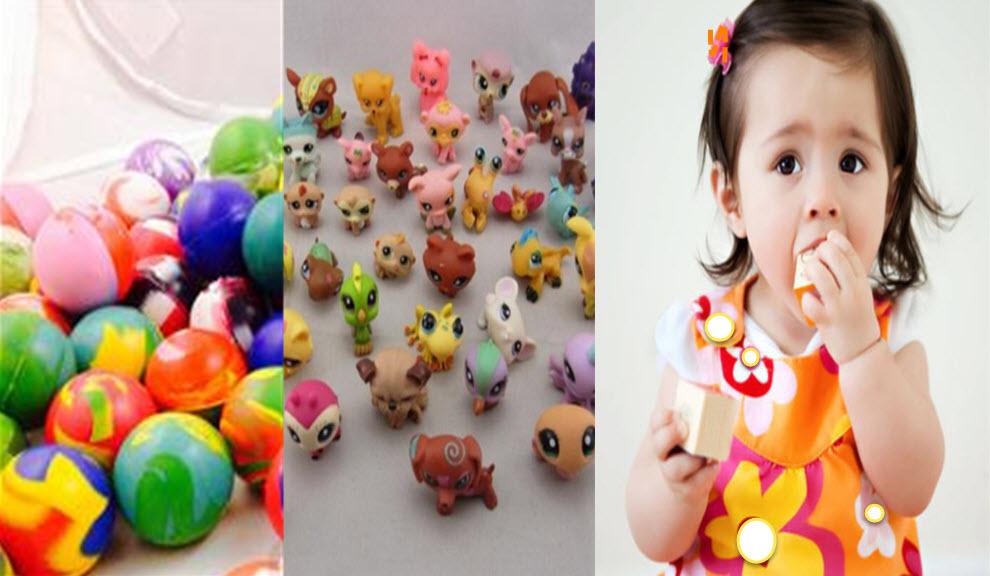 Çocukların boğazına kaçma riski olan oyuncaklar